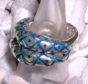rough enamel ring